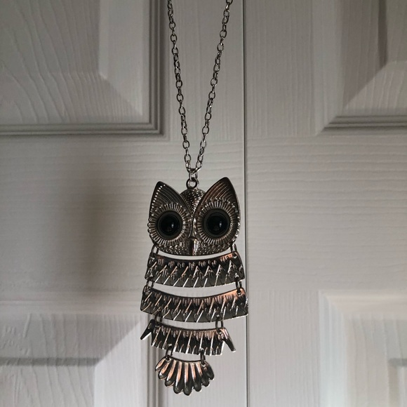 Claire's Jewelry - Long Owl Necklace